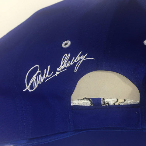 Image of Ford Mustang Hat - Shelby GT350 with Cobra on Bill (Back)