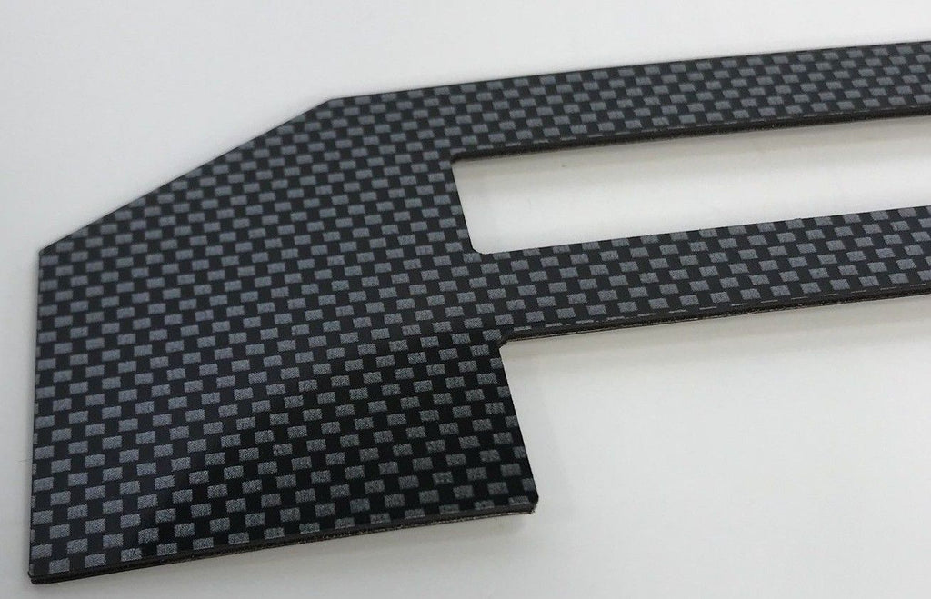 2018-2019 Ford F150 Tailgate Letter Inserts - Carbon Fiber - F