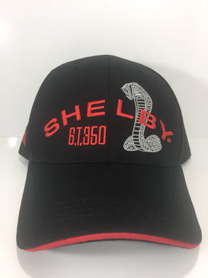 Ford Mustang Hat - Shelby GT350 Logo with Cobra (Front)