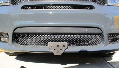 Removable, No Drill License Plate Bracket for 2018-2019 Dodge Durango SRT - Main