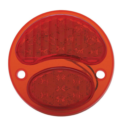 Image of Ford Model A Tail Light - LED Conversion Insert Passenger Side - 1928-1931 - Main