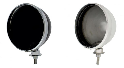 7 Inch Dietz Headlight Buckets (Set/2) - Chrome or Black