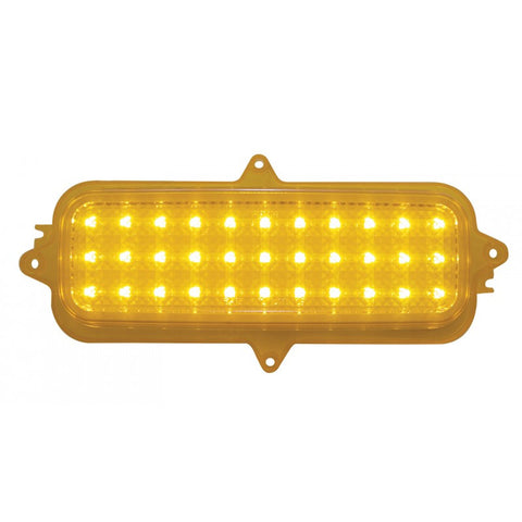 Image of 1960-66 Classic Chevy Truck LED Parking Lights - Amber (Front)