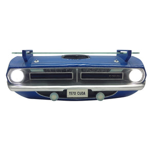 1970 Plymouth Barracuda R/T Wall Shelf - Class Blue Front End - Main