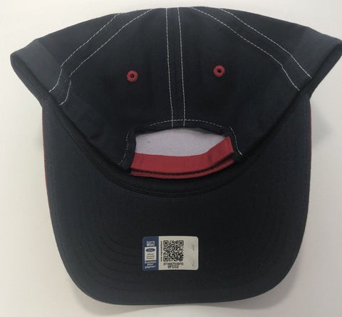 Ford Mustang Patch Hat - Red & Black with Logo (Back)