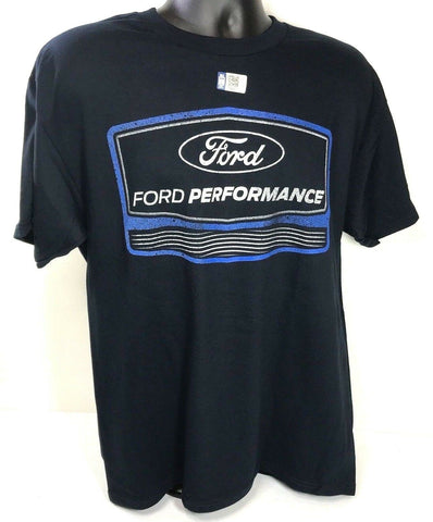 Image of Ford Performance T Shirt - Navy Blue with Logo - Main