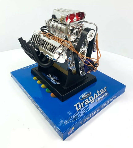 Ford 427 SOHC CID Top Fuel Dragster Model Engine Diecast 1:6 Scale Replica-Live Fast Supply Company