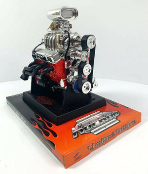 Chevy Small Block 350 V8 Diecast 1:6 Scale Replica Model Engine-Live Fast Supply Company
