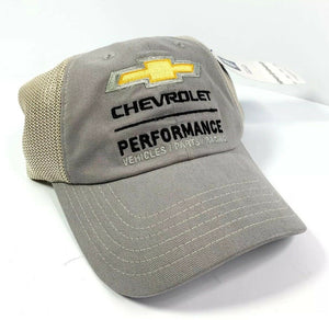 Chevrolet Performance Vehicles Parts Racing Hat - Gray / Khaki-Live Fast Supply Company