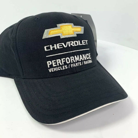 Chevrolet Performance Vehicles Parts Racing Hat - Black-Live Fast Supply Company