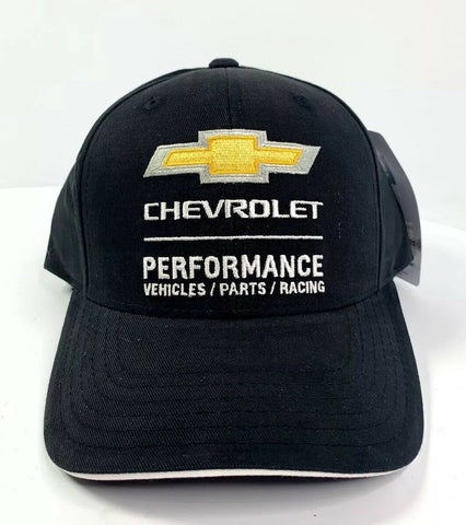 Chevrolet Performance Vehicles Parts Racing Hat - Black