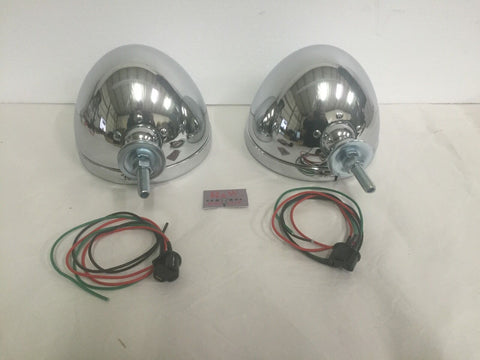 7 Inch Dietz Headlight Buckets (Set/2) Chrome - Pair