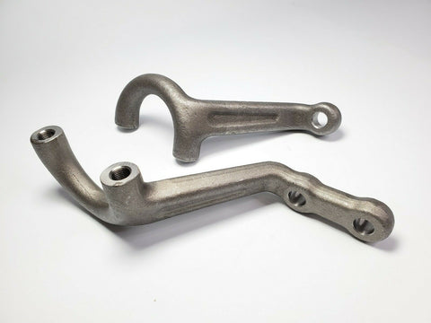 Image of Super Bell Forged Dropped Steering Arm Set for 1935-1948 Ford Car-Live Fast Supply Company