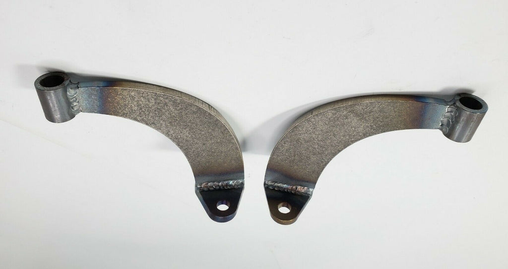 Pair of Headlight Stands / Mounts For Hot Rods (Custom Steel Frame Mounts) - Solid 3