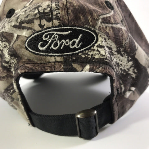 Ford F150 Hat - True Timber Camo with Logo Embroidered (Strap)