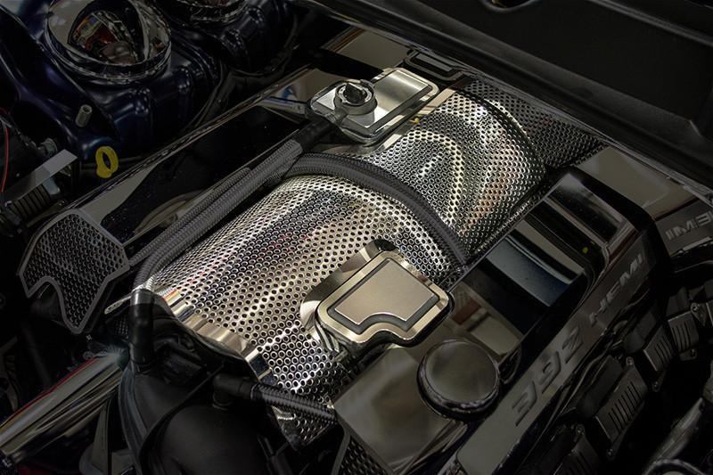 2011-2018 SRT Engine Plenum Perforated Cover - SRT & SRT8 6.4L 392- Installed