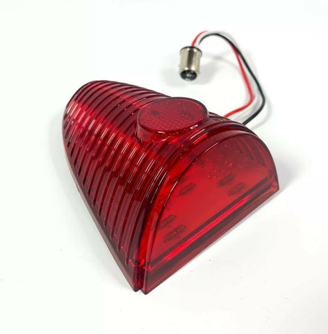 Image of LED Tail Light Lens / Inserts for 1955 Chevy Car - Side