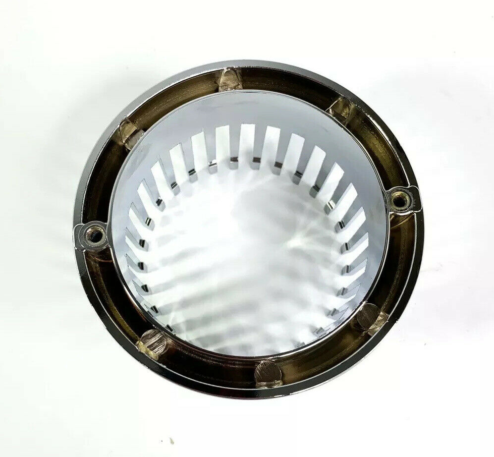 Chrome 1959 Cadillac Style Tail Light Bezel - Custom Flush Mount Metal - Bottom