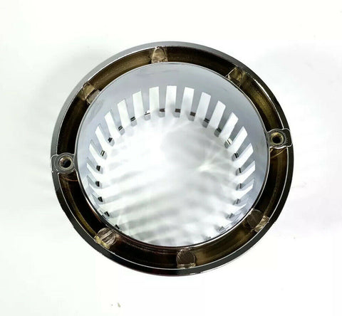 Image of Chrome 1959 Cadillac Style Tail Light Bezel - Custom Flush Mount Metal - Bottom