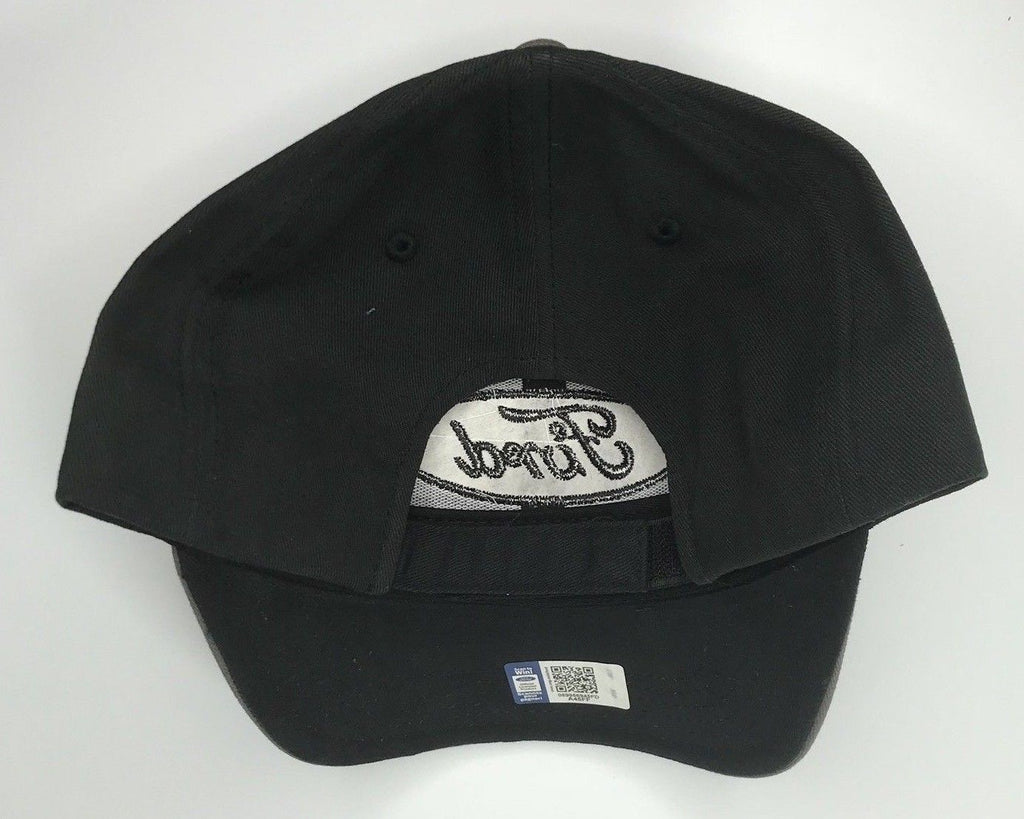 Grey Ford emblem hat with black stitched logo (Back)