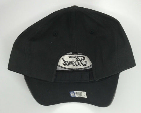 Image of Grey Ford emblem hat with black stitched logo (Back)