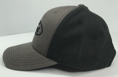 Image of Grey Ford emblem hat with black stitched logo (Bottom)