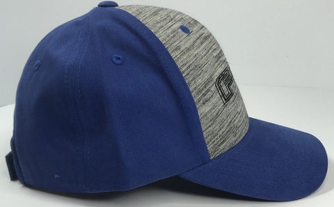 Image of Ford F150 Emblem Hat - Grey & Blue with Logo (Side)