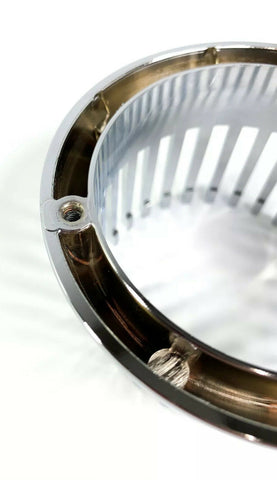 Image of Chrome 1959 Cadillac Style Tail Light Bezel - Custom Flush Mount Metal - Bottom 2