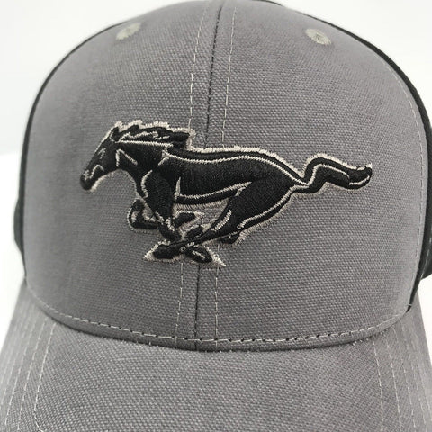 Image of Classic Ford Mustang Grille Emblem Logo Hat (Top)