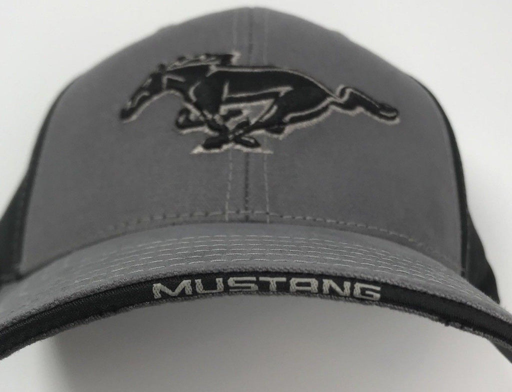 Classic Ford Mustang Grille Emblem Logo Hat (Bill)