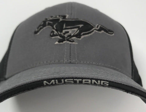 Image of Classic Ford Mustang Grille Emblem Logo Hat (Bill)