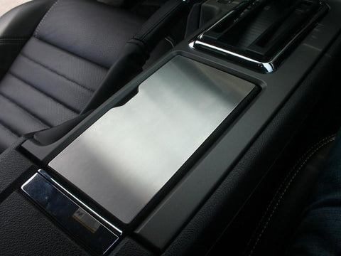 Cup Holder Lid Trim Panel Overlay For 2010-2014 Ford Mustang