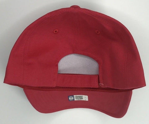 Classic Ford Mustang Hat - Grey Front with Red Backing (Back)