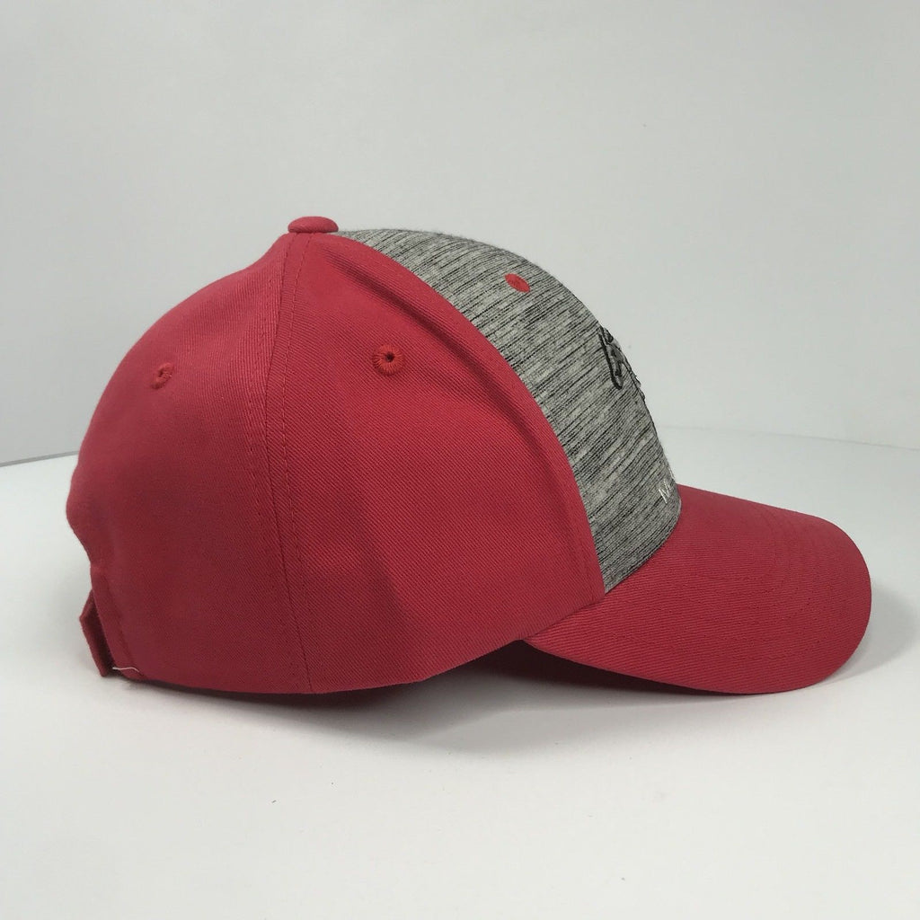 Classic Ford Mustang Hat - Grey Front with Red Backing (Side)