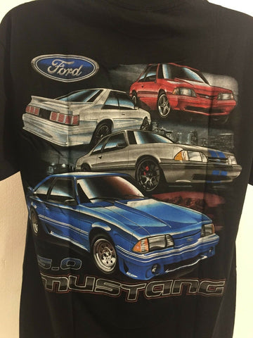 Image of Ford Fox Body 5.0 Mustang T-Shirt - Main