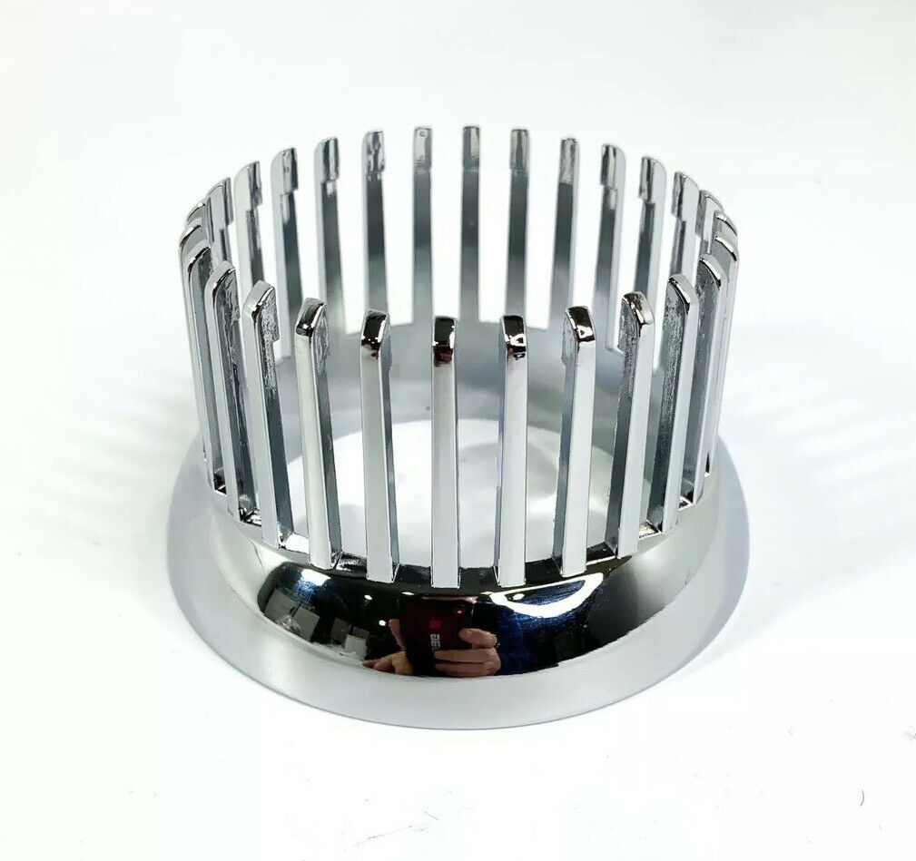 Chrome 1959 Cadillac Style Tail Light Bezel - Custom Flush Mount Metal