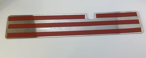 Image of 2015-2017 Mustang GT Radiator Cover Plate - Black Pony Emblem - Back