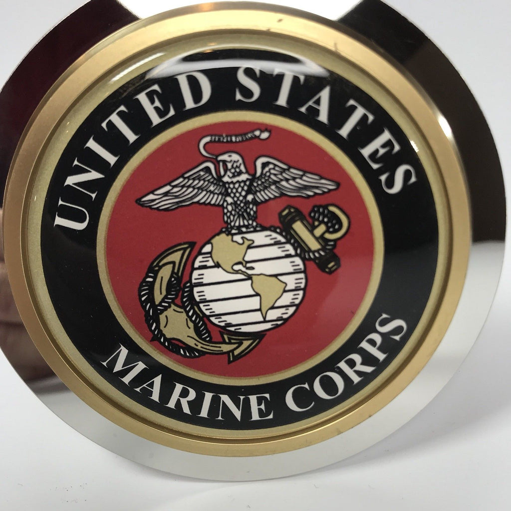 United States Marines Emblem Tow Hitch Cover (Top)