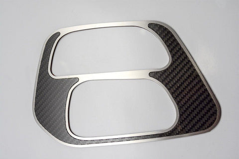 Shift Plate Cover for 2015-2018 Dodge Challenger Carbon Fiber (Top)