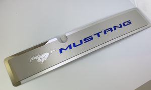 2015-2017 Mustang GT Radiator Cover Plate - Blue Pony Emblem - Main