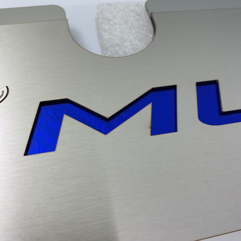 2015-2017 Mustang GT Radiator Cover Plate - Blue Pony Emblem - M