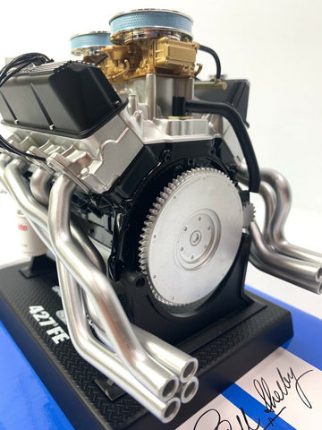 Ford Shelby Cobra 427 FE Model Engine - Diecast 1:6 Scale Motor Replica-Live Fast Supply Company