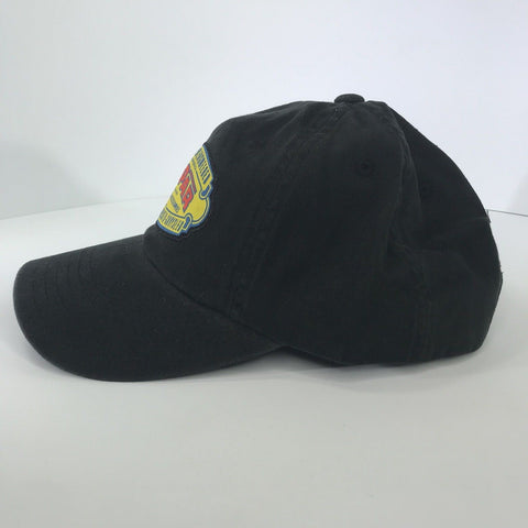 Image of Mopar Hat - Black with 1937 Logo / Emblem (Side)