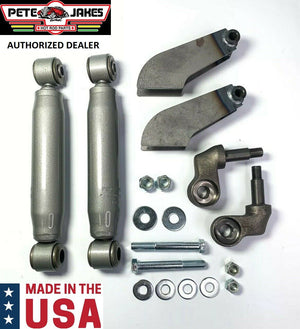 Painted Weld-On Front Shock Kit For 1928-1931 Model A & 1932 Ford - Made In USA-Live Fast Supply Company