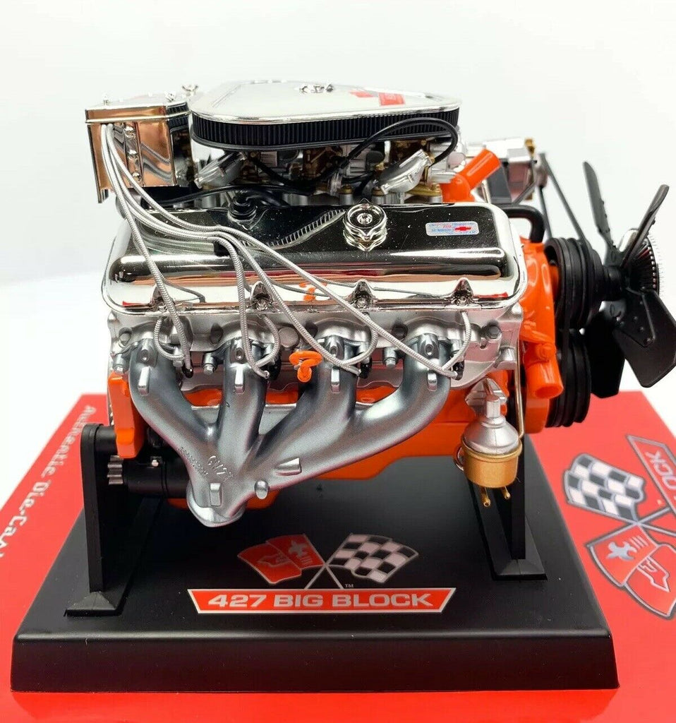 Big Block Chevy 427 V8 Model Engine - Diecast 1:6 Scale Motor Replica-Live Fast Supply Company