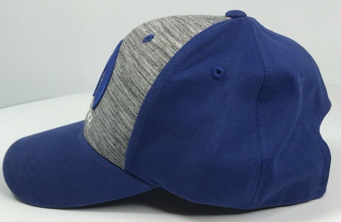 Image of Mopar Hat - Grey & Blue with M Emblem / Logo (Side)