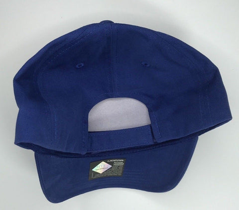 Image of Mopar Hat - Grey & Blue with M Emblem / Logo (Bottom)