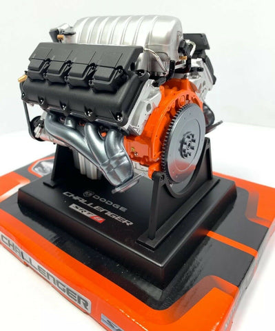 Dodge Challenger SRT8 HEMI 6.1L Model Engine - Diecast 1:6 Scale Motor Replica-Live Fast Supply Company