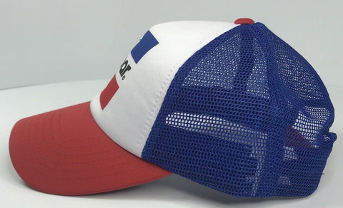 Image of Mopar Hat - Padded Trucker with Logo / Emblem (Side)