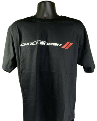 Dodge Challenger T-Shirt - Black w/ Multiple Trim & Engine Emblems - Front